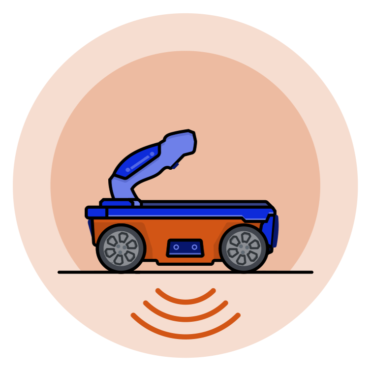 Home Concrete Scanning Icon